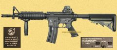 Colt -Full metal M4 CQBR (BOYI 3981DX-1)